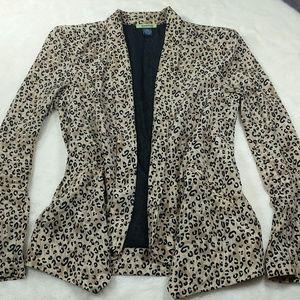 Lightweight jacket Animal print
